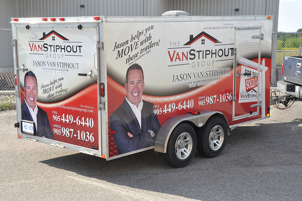 Real Estate Vehicle Wraps