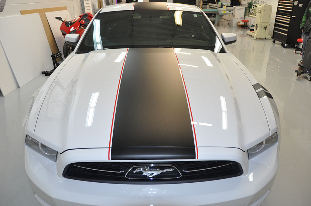 Mustang Hood Stripes Toronto