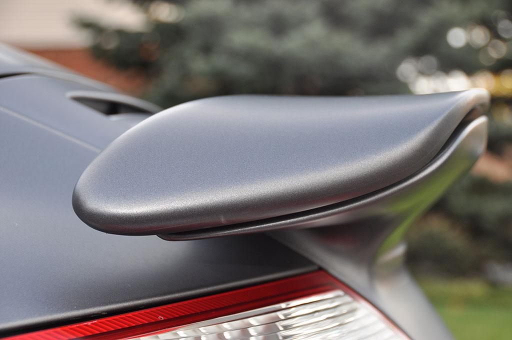 Porsche Spoiler Wrap