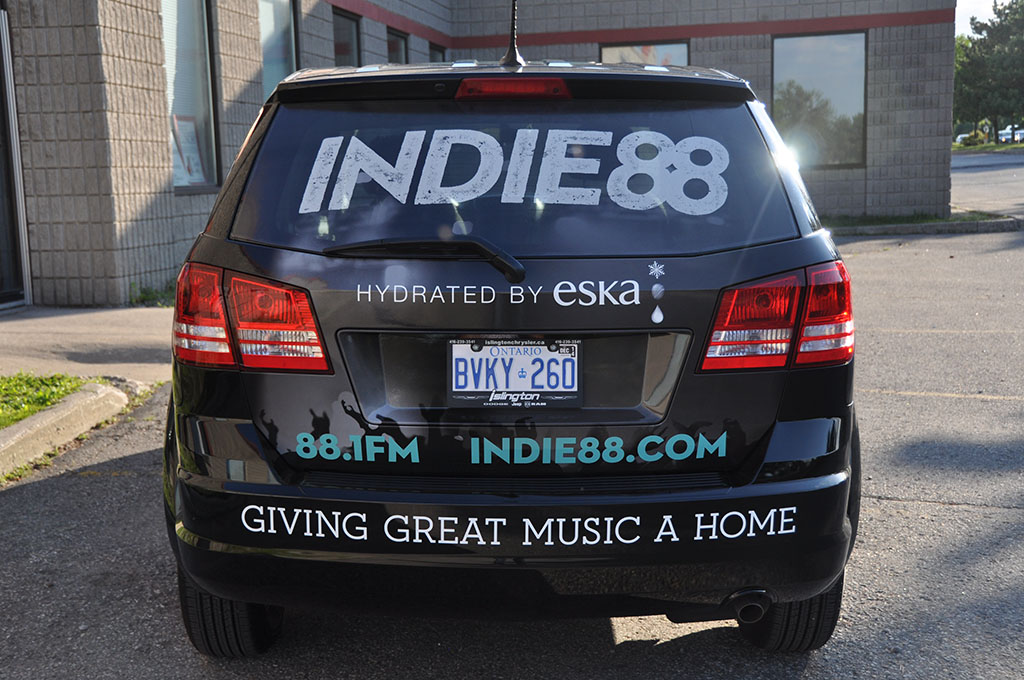 Indie88 Vehicle