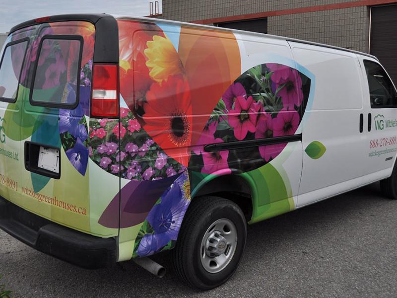 Witzkes Greenhouses Van