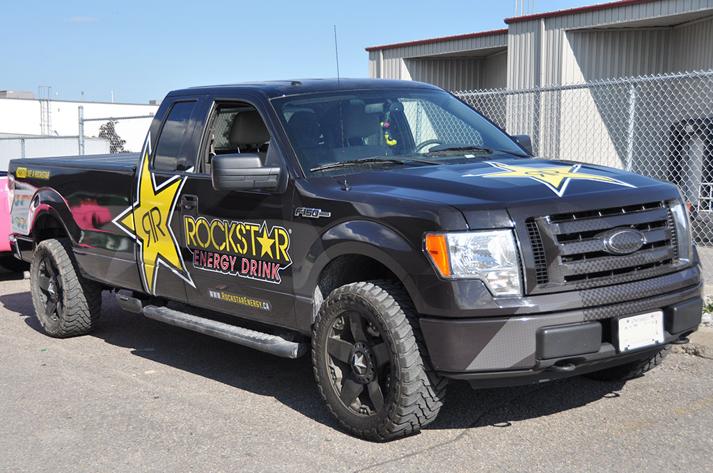 Rockstar Energy Drink Truck Wrap 10west Commercial Graphics