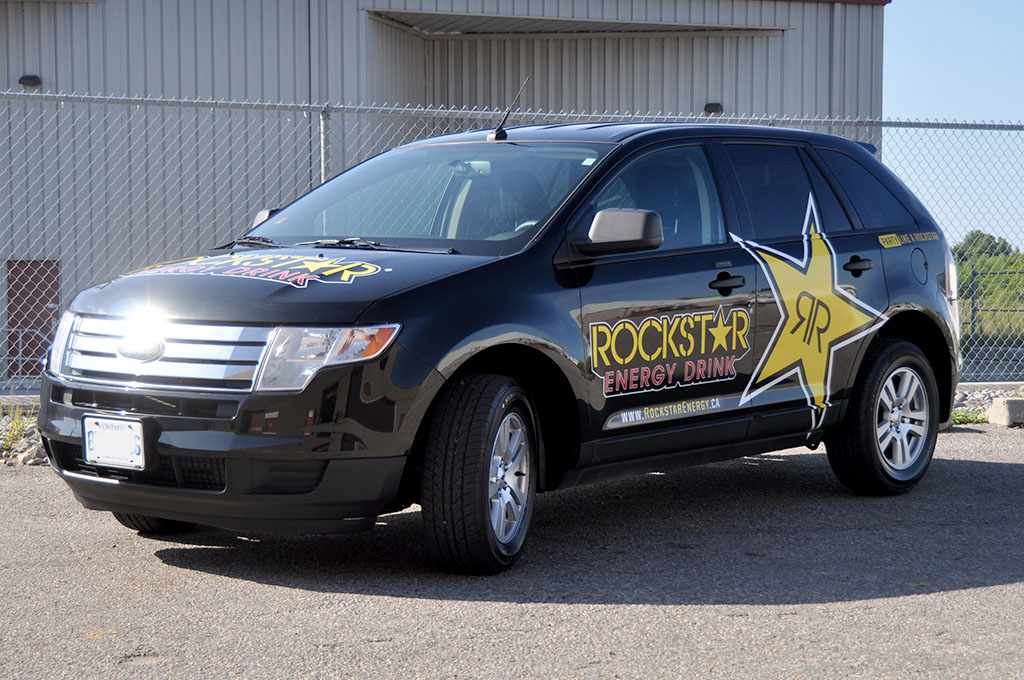 Rockstar Ford Edge Front