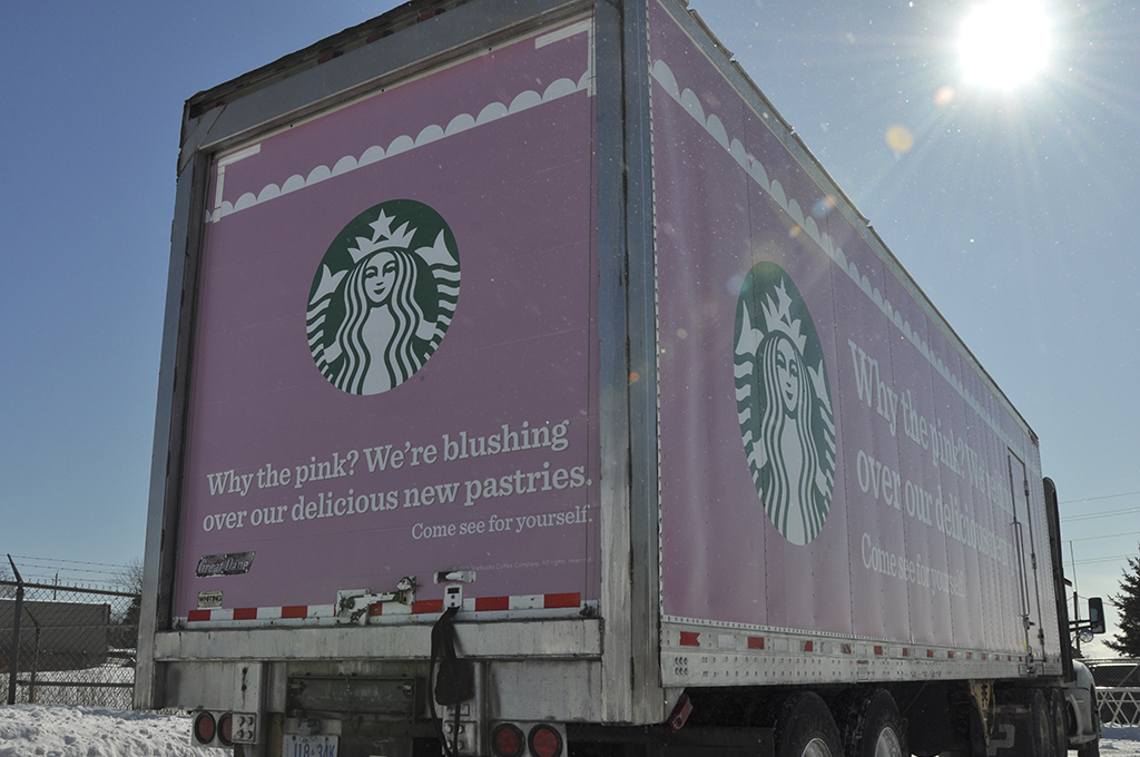 Starbucks Trailer